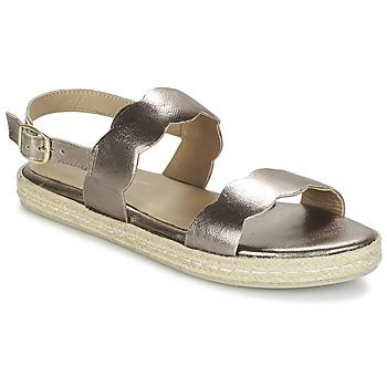 Παπούτσια Γυναίκα Σανδάλια / Πέδιλα Betty London IKARO Silver