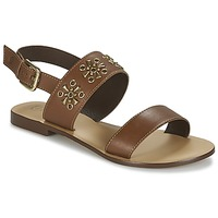 Παπούτσια Γυναίκα Σανδάλια / Πέδιλα Betty London IKIMI Brown