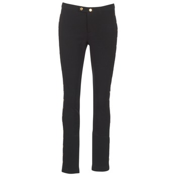 Υφασμάτινα Γυναίκα Skinny Τζιν  MICHAEL Michael Kors DOME STUD PLTD PANT Black