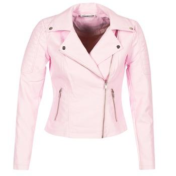 Υφασμάτινα Γυναίκα Δερμάτινο μπουφάν Noisy May NMREBEL Ροζ