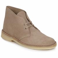 Παπούτσια Άνδρας Μπότες Clarks DESERT BOOT Sable