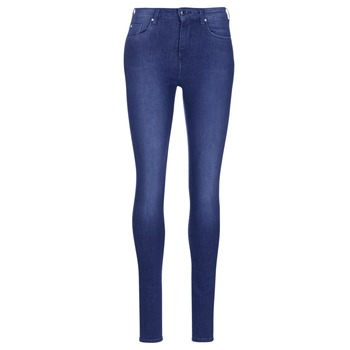 Υφασμάτινα Γυναίκα Skinny jeans Pepe jeans REGENT Μπλέ / Ce2 / Cristaux / Swarorsky