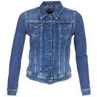 Υφασμάτινα Γυναίκα Τζιν Μπουφάν/Jacket  Pepe jeans THRIFT Μπλέ / Medium