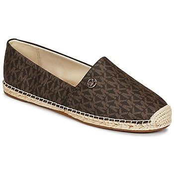 Παπούτσια Γυναίκα Εσπαντρίγια MICHAEL Michael Kors KENDRICK SLIP ON Brown