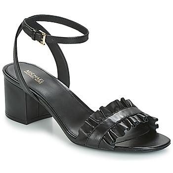 Παπούτσια Γυναίκα Σανδάλια / Πέδιλα MICHAEL Michael Kors BELLA FLEX MID Black