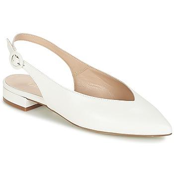 Παπούτσια Γυναίκα Μπαλαρίνες Fericelli IKIRUA Άσπρο