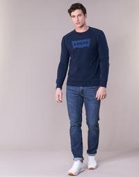Υφασμάτινα Άνδρας Skinny Τζιν  Levi's 511™ SLIM FIT Μπλέ