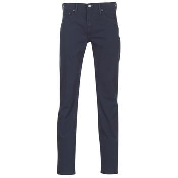 Υφασμάτινα Άνδρας Παντελόνια Πεντάτσεπα Levi's 511™ SLIM FIT Μπλέ / Fonce