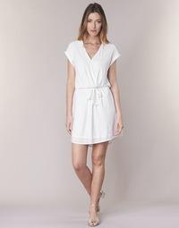 Υφασμάτινα Γυναίκα Κοντά Φορέματα Le Temps des Cerises FORKATON Άσπρο