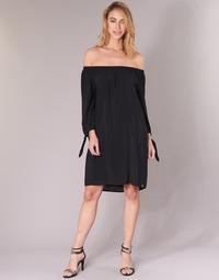 Υφασμάτινα Γυναίκα Κοντά Φορέματα LPB Woman ARIN Black