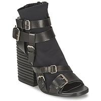 Παπούτσια Γυναίκα Μποτίνια Strategia BUGNARA Black