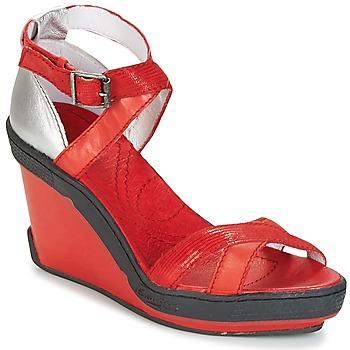 Παπούτσια Γυναίκα Σανδάλια / Πέδιλα Pataugas GOUY Red