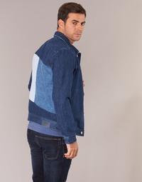 Υφασμάτινα Άνδρας Τζιν Μπουφάν/Jacket  Tommy Jeans TJM STREET TRUCKER JKT Μπλέ / Medium