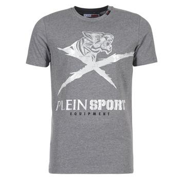 Υφασμάτινα Άνδρας T-shirt με κοντά μανίκια Philipp Plein Sport BORIS Grey / Silver