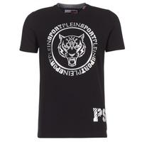 Υφασμάτινα Άνδρας T-shirt με κοντά μανίκια Philipp Plein Sport IVAN Black / Silver