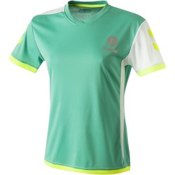 Υφασμάτινα Γυναίκα T-shirt με κοντά μανίκια Hummel Maillot Femme  Trophy vert/blanc