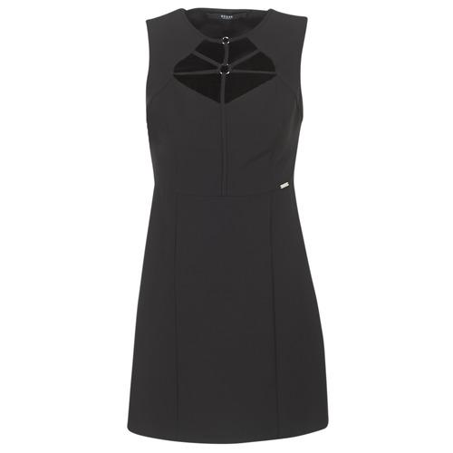 Υφασμάτινα Γυναίκα Κοντά Φορέματα Guess SLOREPA Black