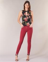 Υφασμάτινα Γυναίκα Skinny Τζιν  Guess SANSOPO Red