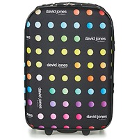 Τσάντες Valise Souple David Jones PICOLO 35L Black / Multicolore