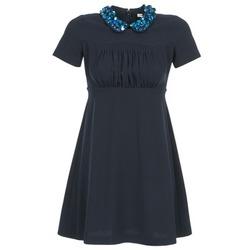 Υφασμάτινα Γυναίκα Κοντά Φορέματα Manoush COMMUNION μπλέ