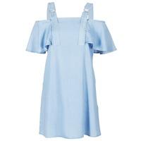 Υφασμάτινα Γυναίκα Κοντά Φορέματα Guess RACUNO Μπλέ