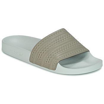 Παπούτσια σαγιονάρες adidas Originals ADILETTE Beige / Green