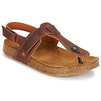 Παπούτσια Γυναίκα Σανδάλια / Πέδιλα Art WE WALK Brown