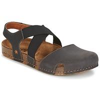 Παπούτσια Γυναίκα Σανδάλια / Πέδιλα Art WE WALK Grey / Black