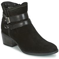 Παπούτσια Γυναίκα Μποτίνια Tamaris ABERBER Black