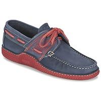 Παπούτσια Άνδρας Boat shoes TBS GLOBEK μπλέ / Red