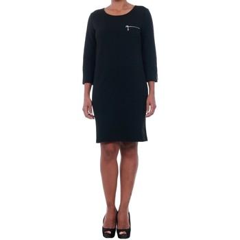 Υφασμάτινα Γυναίκα Κοντά Φορέματα Jacqueline De Yong 15142620 JDYSAXO 3/4 DRESS JRS BLACK Negro
