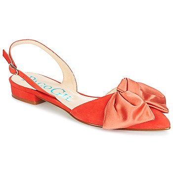 Παπούτσια Γυναίκα Σανδάλια / Πέδιλα Paco Gil MARIE TOFLEX Red