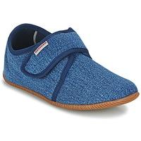 Παπούτσια Παιδί Παντόφλες Giesswein SENSCHEID Μπλέ