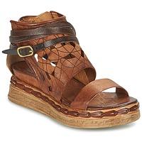 Παπούτσια Γυναίκα Σανδάλια / Πέδιλα Airstep / A.S.98 LAGOS Brown