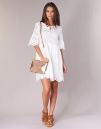 Υφασμάτινα Γυναίκα Κοντά Φορέματα Betty London INNATU Άσπρο