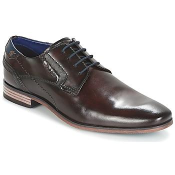 Παπούτσια Άνδρας Derby Bugatti Refito Dark / Καφέ