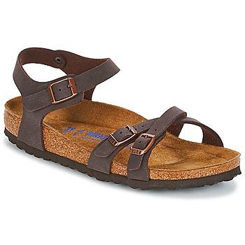 Παπούτσια Γυναίκα Σανδάλια / Πέδιλα Birkenstock KUMBA SFB Brown