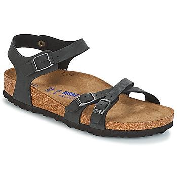 Παπούτσια Γυναίκα Σανδάλια / Πέδιλα Birkenstock KUMBA SFB Black