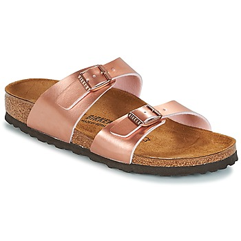 Παπούτσια Γυναίκα Τσόκαρα Birkenstock SYDNEY Ροζ / Χρυσο