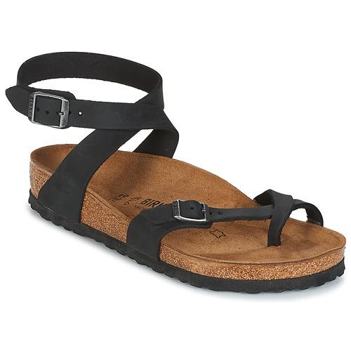 Παπούτσια Γυναίκα Σανδάλια / Πέδιλα Birkenstock YARA Black