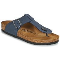 Παπούτσια Άνδρας Σαγιονάρες Birkenstock MEDINA Nubuck / Navy