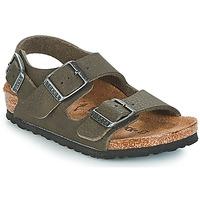 Παπούτσια Αγόρι Σανδάλια / Πέδιλα Birkenstock MILANO Green