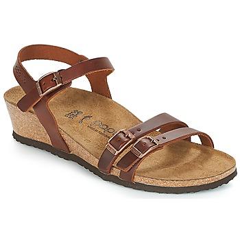 Παπούτσια Γυναίκα Σανδάλια / Πέδιλα Papillio LANA Cognac