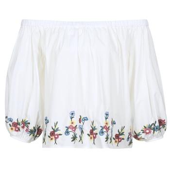 Υφασμάτινα Γυναίκα Μπλούζες Moony Mood IFITI Άσπρο