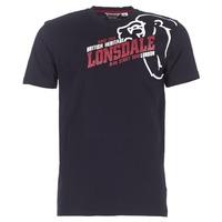 Υφασμάτινα Άνδρας T-shirt με κοντά μανίκια Lonsdale WALKLEY Black