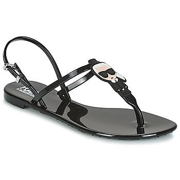 Παπούτσια Γυναίκα Σανδάλια / Πέδιλα Karl Lagerfeld JELLY KARL ICONIK Black