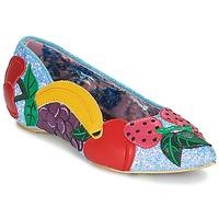 Παπούτσια Γυναίκα Μπαλαρίνες Irregular Choice BANANA BOAT Μπλέ