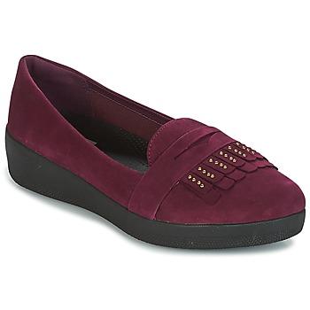 Παπούτσια Γυναίκα Μπαλαρίνες FitFlop LOAFER Violet