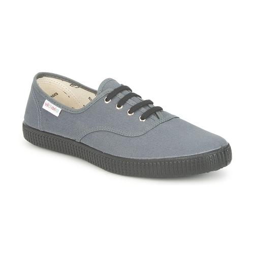 Παπούτσια Χαμηλά Sneakers Victoria INGLESA LONA PISO Anthracite