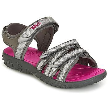 Παπούτσια Κορίτσι Σπορ σανδάλια Teva TIRRA Silver / Magenta